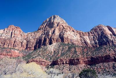 Watchman.  Zion National Park. Utah