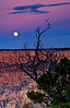 Moonrise over the South Rim - Grand Canyon National Park, Arizona - John Remy - September 2007