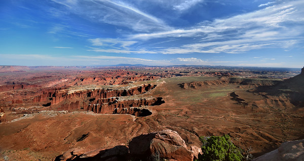 Grandview Point and the White Rim