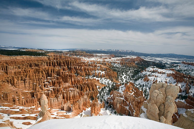 Bryce Amphitheater from Bryce Point.  Bryce Canyon National Park.
