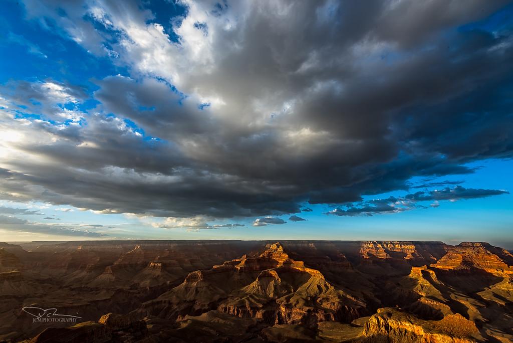 Grand Canyon Sunset from Yaki Pt.