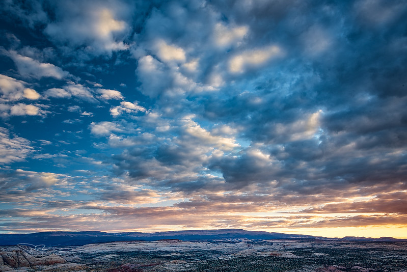Sunrise over Southern Utah