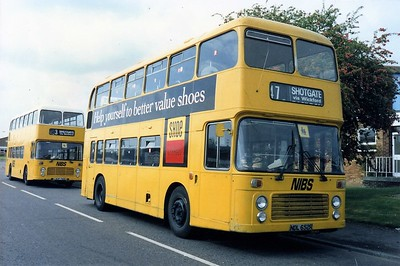 Early days at W H Nelson (Coaches) Ltd of Wickford t/a NIBS (Nelsons Independent Bus Service)