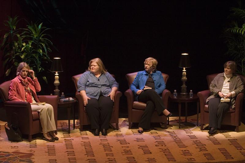 Virginia Boyd, Pamela Duncan, Lynn York & Darnell Arnoult