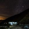 night sky over Borrego Springs campground