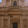 The facade of the church of Saint Ignatius of Loyola. on the Via del Seminario, dedicated to Ignatius of Loyola, the founder of the Jesuit order.