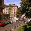 Rome is a very green city, with plenty of trees and shade throughout the city.