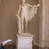 A statue of Apollo within the Vatican Museum.