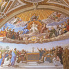 A fresco in the Vatican Museum.