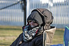 Sunny or freezing, one of the Penmen's biggest fans. Certainly can't say we Northerners aren't passionate about baseball!