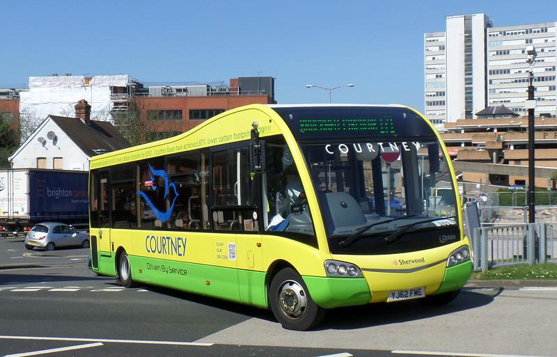YJ62FME - Bracknell (bus station)