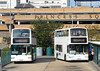 T131AUA and PL02PZT - Bracknell (bus station) - 15.9.12