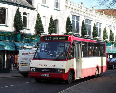 M870SKP - Axminster (town centre) - 28.11.09