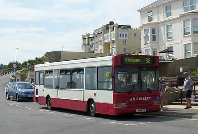 S114EGK - Seaton (seafront) - 26.7.14