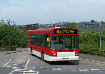R454FVX - Axminster (railway station) - 26.7.14