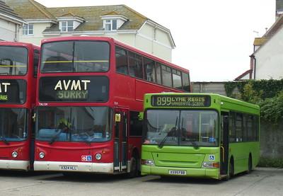 X595FBB - Seaton (AVMT depot)