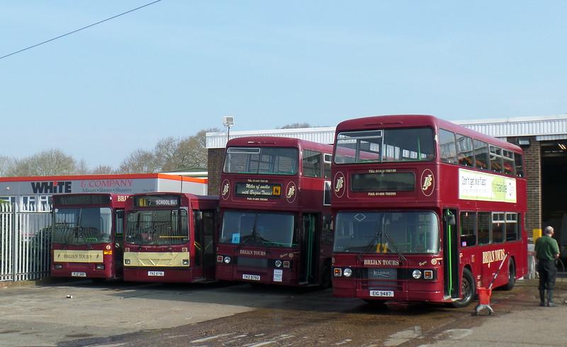 87 - EIG9487 - Brijan depot, Botley