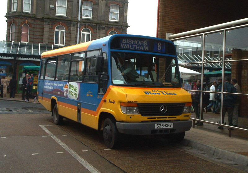 35 - S35KRV - Eastleigh (bus station)