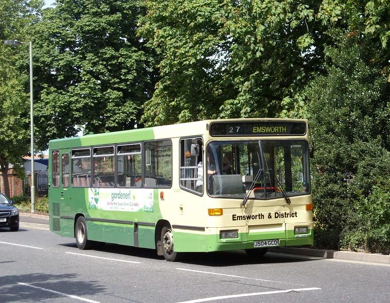 J504GCD - Havant (bus station)