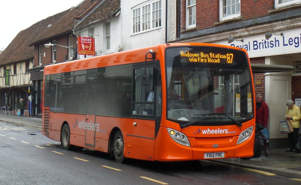 YX12FRC - Salisbury (Blue Boar Row)