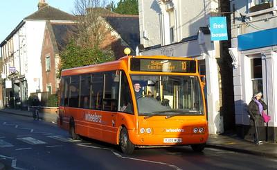 YJ05WCU - Salisbury (Fisherton St)