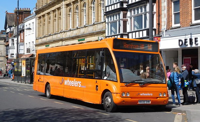 MX08DHN - Salisbury (Blue Boar Row)
