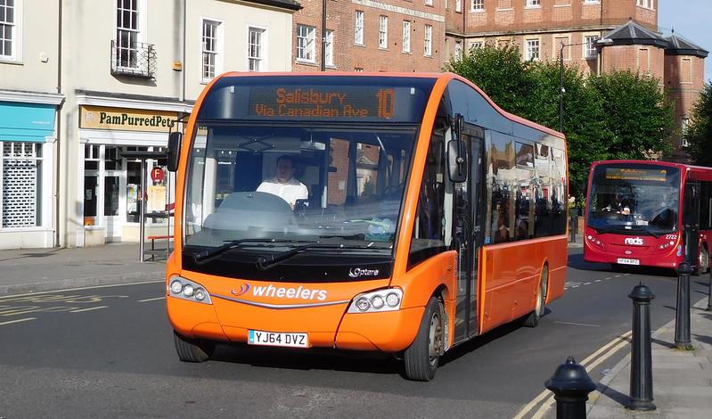 YJ64DVZ - Salisbury (Fisherton St)