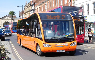 YJ64DVZ - Salisbury (Blue Boar Row)