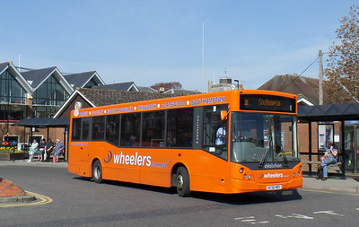 AE56MBY - Romsey (bus station) - 17.4.14