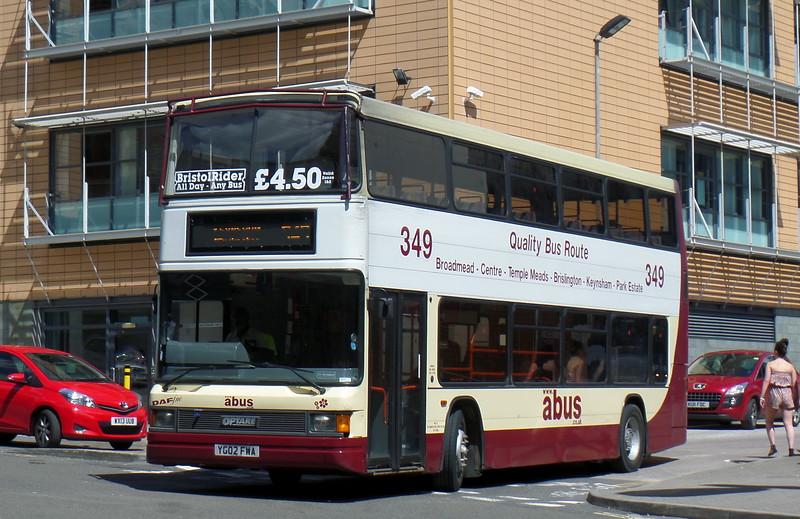YG02FWA - Bristol (bus station)