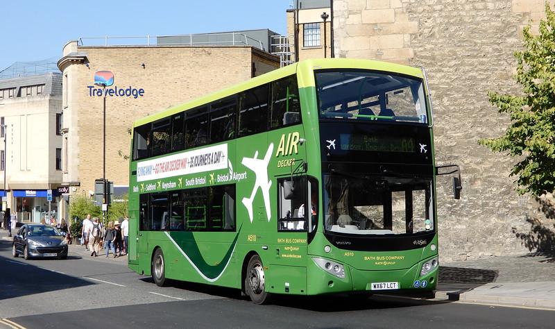 A510 - WX67LCT - Bath (St. James's Parade)
