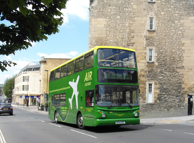 A502 - SK52URY - Bath (St James's Parade) - 25.5.13