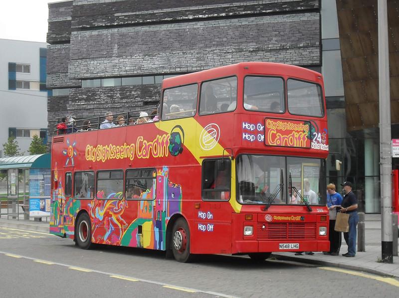 248 - N548LHG - Cardiff Bay (Millennium Centre) - 30.7.11