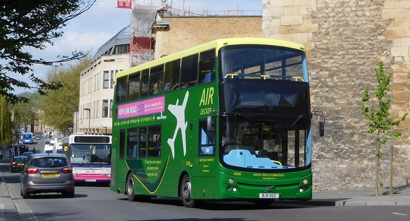 A506 - BJ11XGZ - Bath (St. James's Parade)