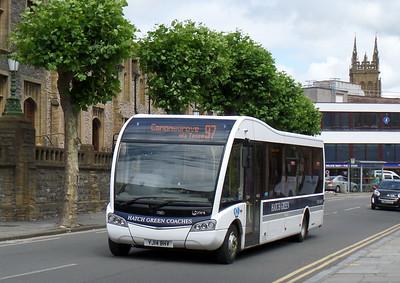 YJ14BHV - Taunton (Corporation St)