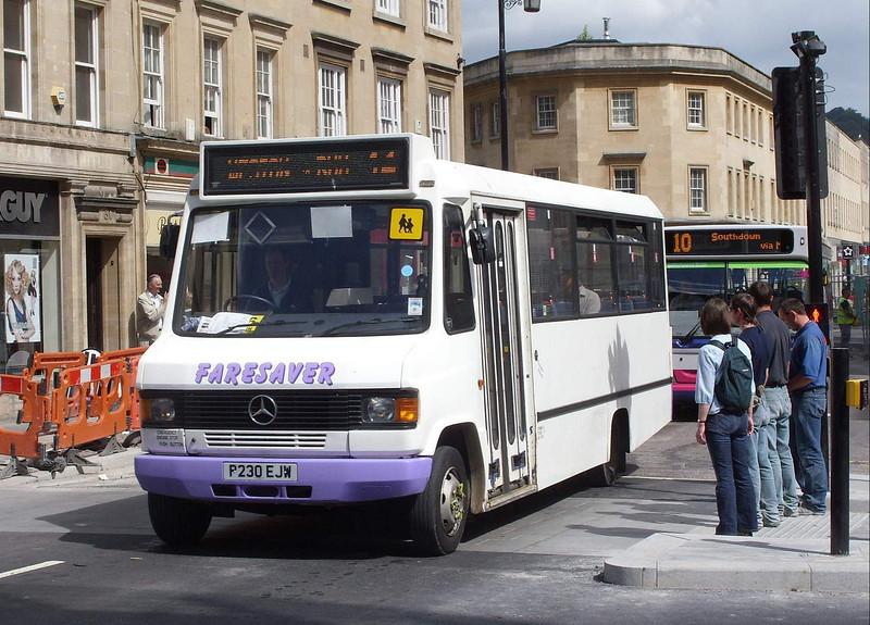 P230EJW - Bath (St James' Parade) - 15.6.09
