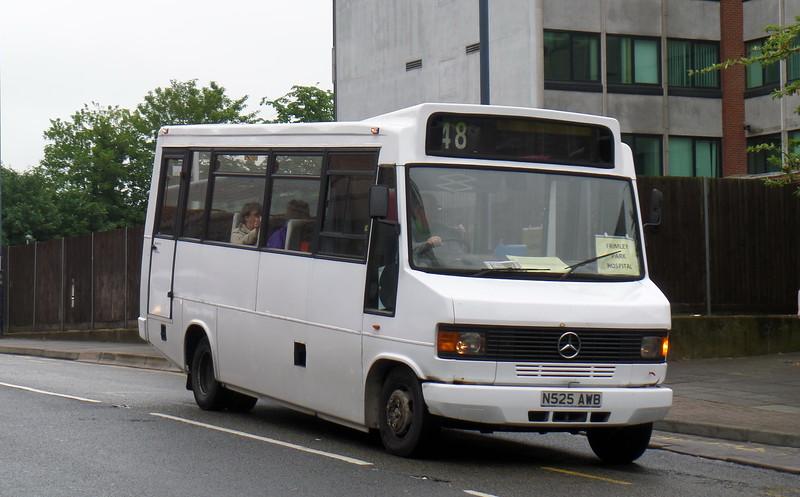 N525AWB - Woking (Cawsey Way)