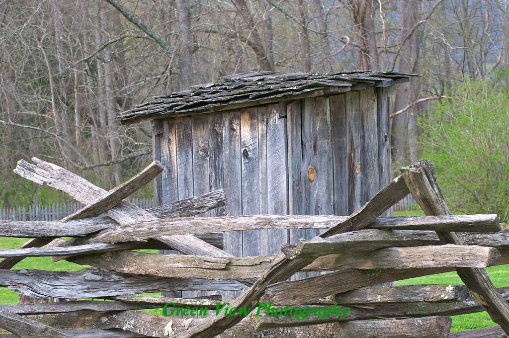 Outbuilding at the Mountain Farm Museum