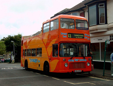 503 - XDL872 - Shanklin (town centre) - 20.8.04
