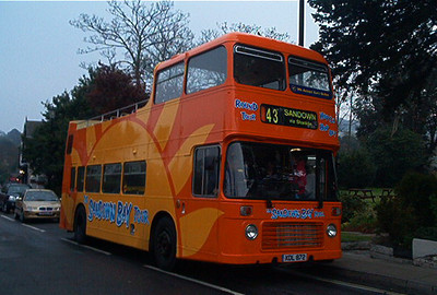 503 - XDL872 - Shanklin (old village) - 20.4.03