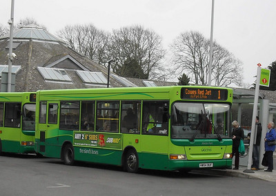 3321 - HW54BUF - Newport (bus station) - 12.3.11