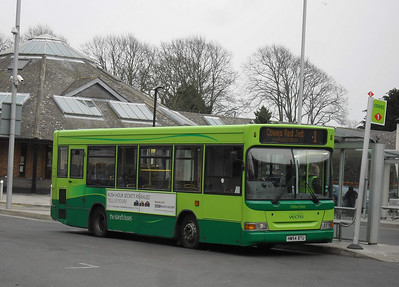 3314 - HW54BTU - Newport (bus station) - 12.3.11