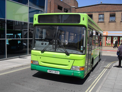 3326 - HW54BUU - Newport (bus station) - 3.6.11