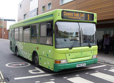 3316 - HW54BTX - Newport (bus station) - 5.8.08