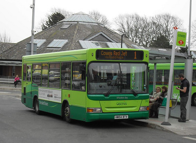 3315 - HW54BTV - Newport (bus station) - 12.3.11
