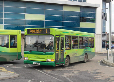 3328 - HW54DBZ - Newport (bus station) - 17.11.12