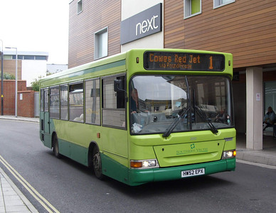 3301 - HW52EPX - Newport (bus station) - 5.8.08