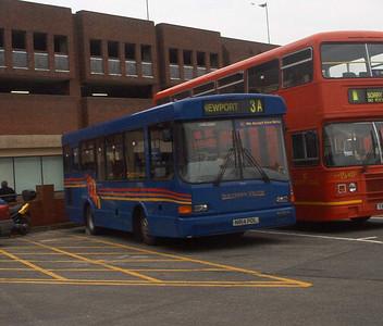 814 - N814PDL - Newport (old bus station) - 16.2.04