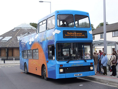 4611 - N411JBV - Newport (bus station) - 5.8.08