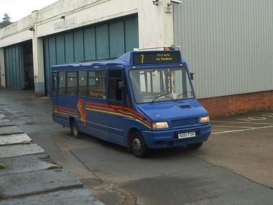 261 - N261FOR - Ryde depot - 27.3.04